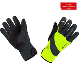 GORE BIKE WEAR Universal WS Thermo Gloves neon yellow/black
